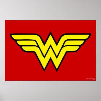 Wonder Woman Logo Print