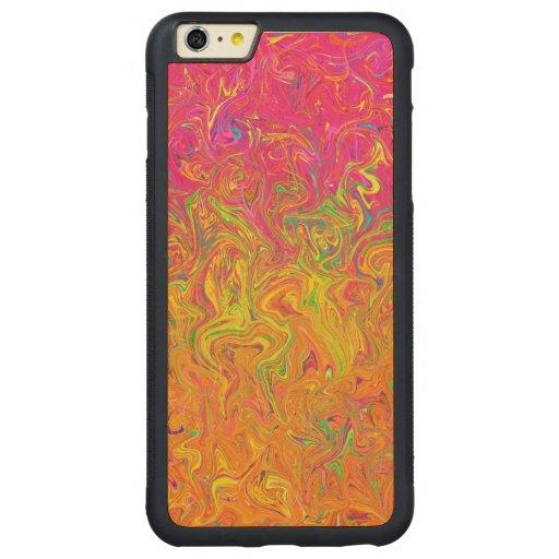 bedroom color schemes case plus | Wood Case iPhone 6 Plus Fluid Colors | Zazzle