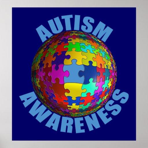 World Autism Awareness Poster (Extra Large)   Zazzle