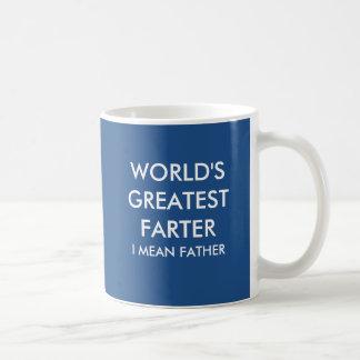 World S Greatest Farter I Mean Father Travel Mug