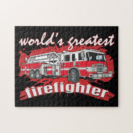 World S Greatest Firefighter Puzzle