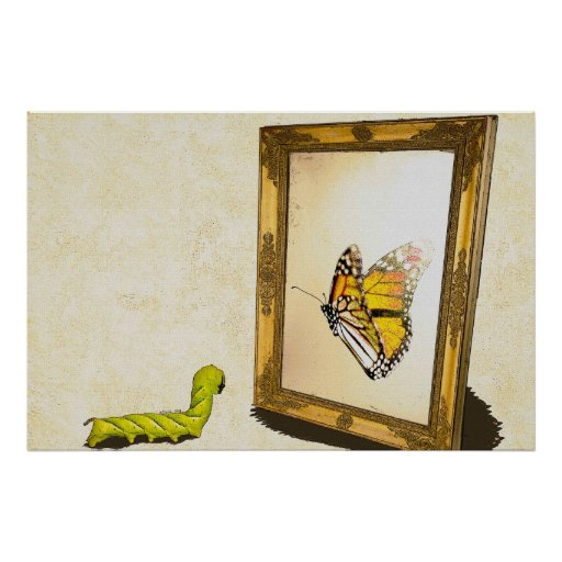 mirror will template - worm and the mirror poster zazzle