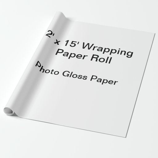 """Matte Wrapping Paper, 30"""" X 15'"""