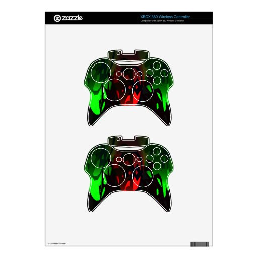 Xbox 360 Controller Skin Template - Customized