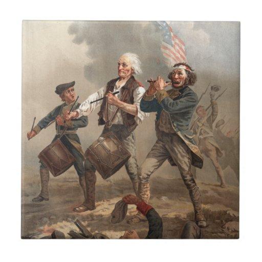 Quot Yankee Doodle Dandy Quot Tile Zazzle