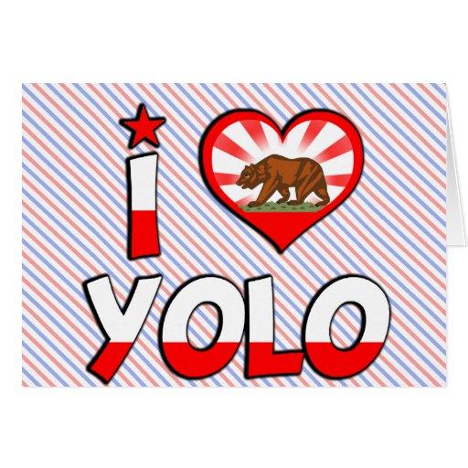 Yolo, CA Card