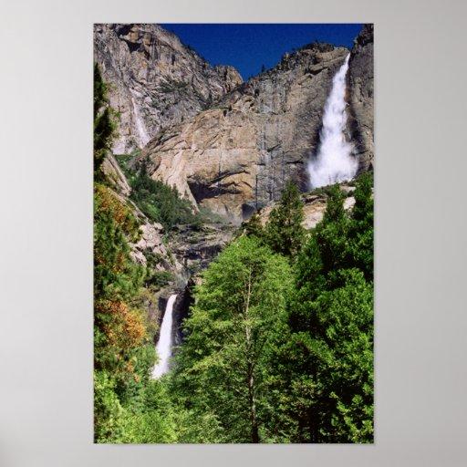 Yosemite Fall Poster