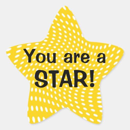 You are a Star Reward Stickers | Zazzle