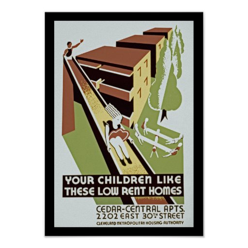 Low Rent Housing: Your Children Like These Low Rent Homes Poster