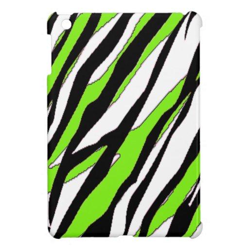 zebra stripe lime green case for the ipad mini zazzle. Black Bedroom Furniture Sets. Home Design Ideas