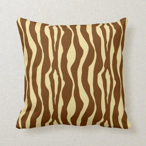 Marvelous Brown Zebra Print Throw Pillows Home Ideas Uwap Interior Chair Design Uwaporg