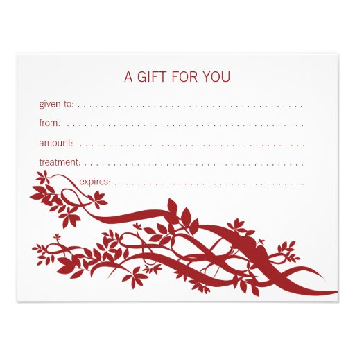 massage therapy gift certificate template - massage certificates gifts t shirts art posters