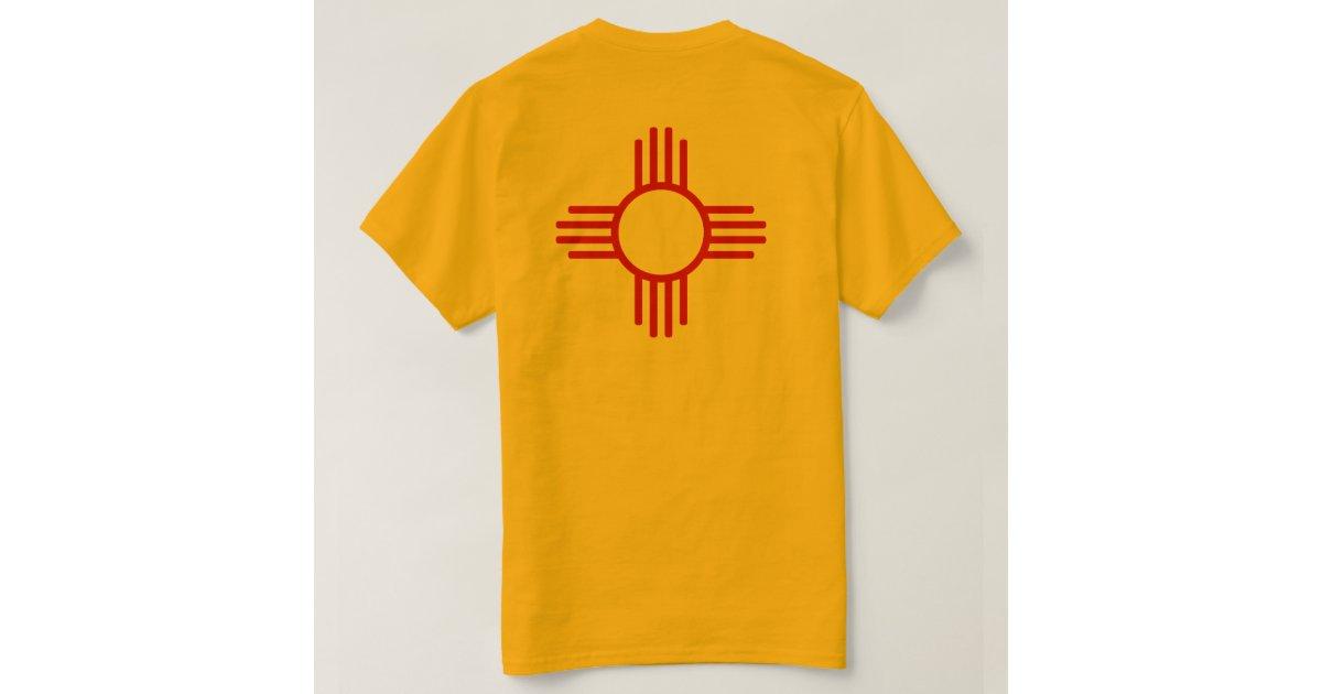 Zia Sun Symbol T Shirt Zazzle