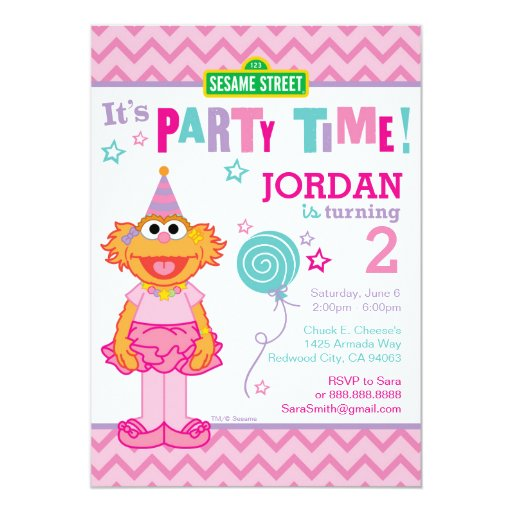 Zoe Birthday Card