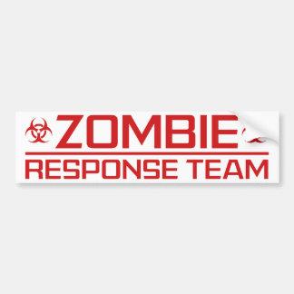 Zombie Apocalypse Response Team Bumper Stickers - Car ...