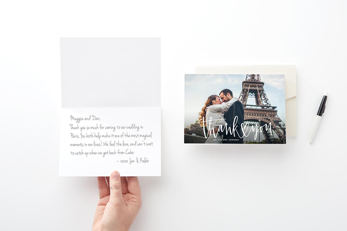 35 Wedding Thank You Card Quotes | Zazzle Ideas