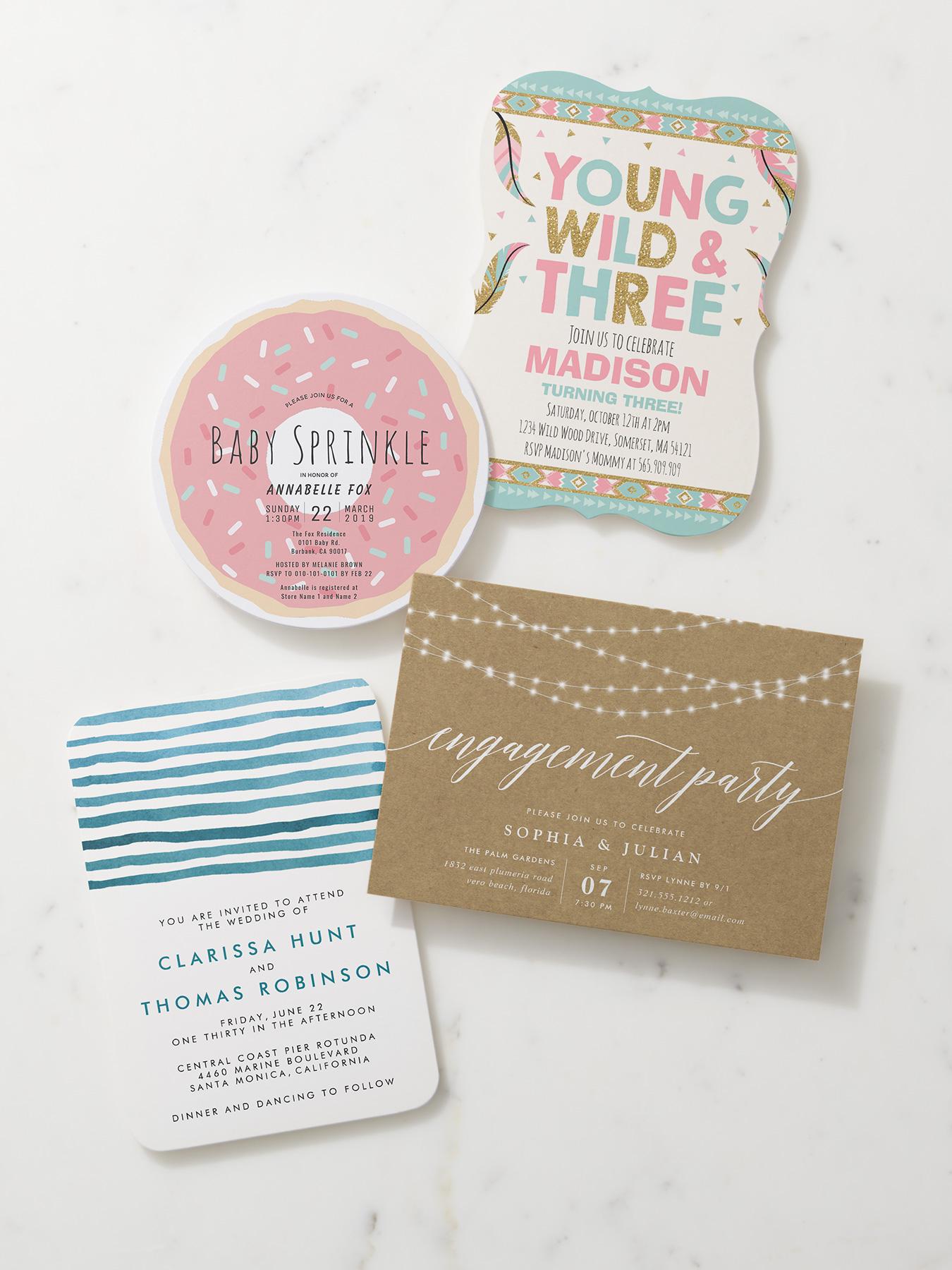 How To Create The Perfect Custom Invitation Zazzle Ideas