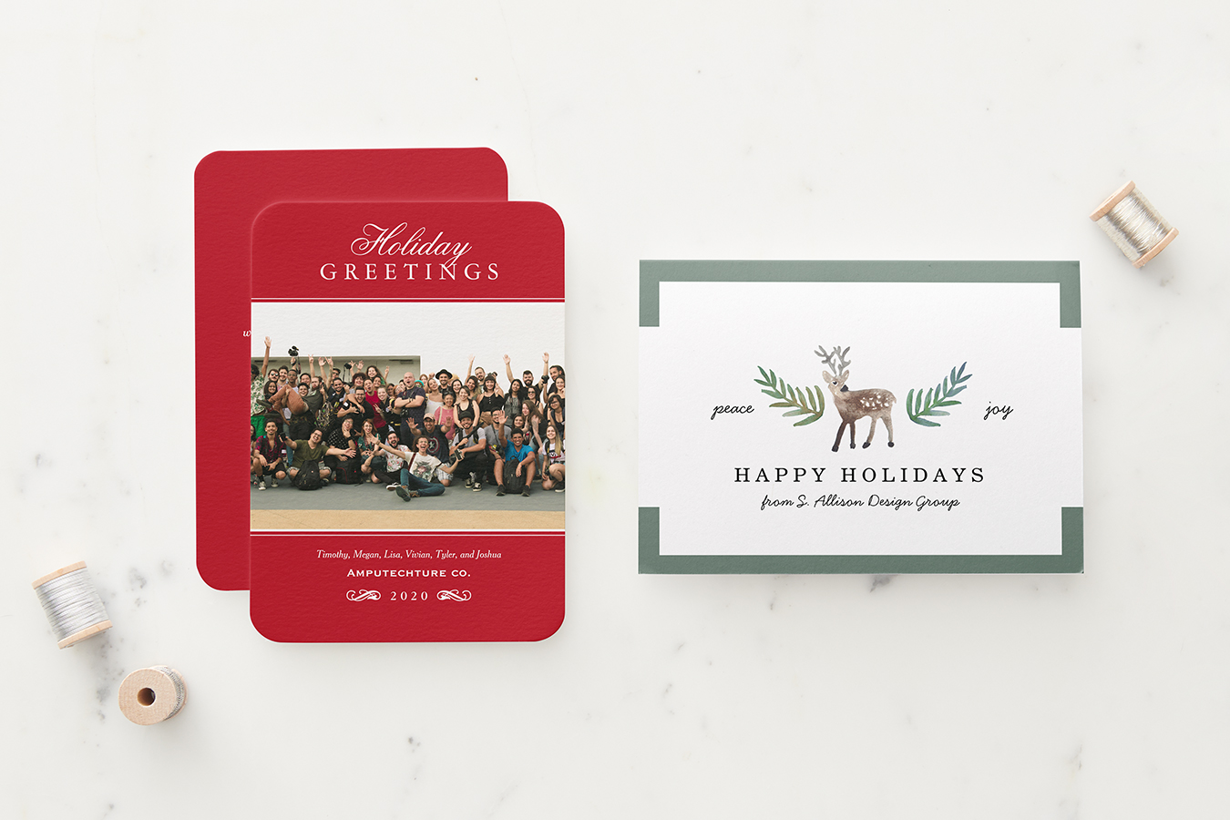 How To Design A Business Holiday Card Zazzle Ideas